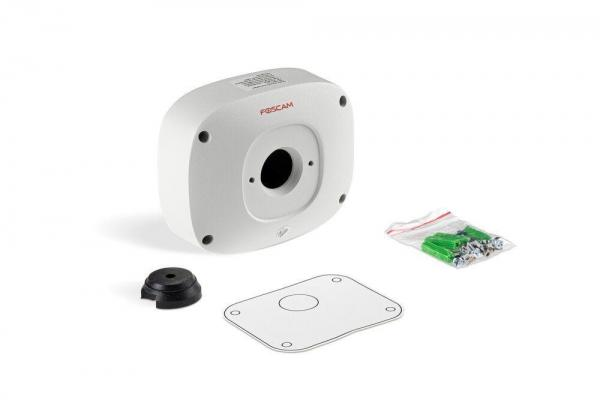 Mounting plate for outdoor camera